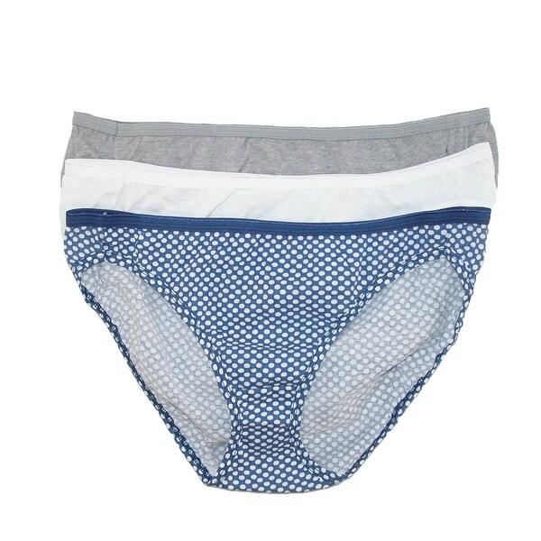 Hanes Women's Cotton Bikini Undergarments (Pack of 3)