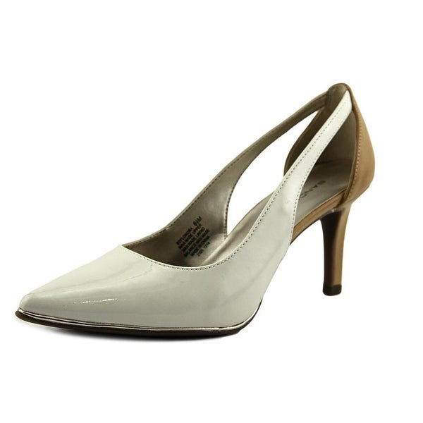 Bandolino Flonora Pointed Toe Synthetic Heels