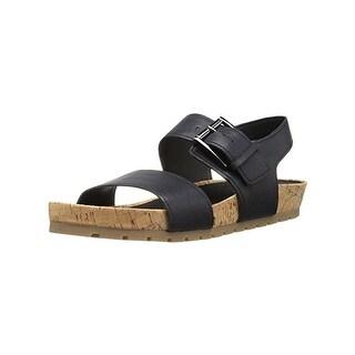 Aerosoles Womens Compass Flat Sandals Open Toe Platform