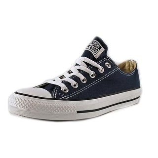 Converse All Star Ox Women Round Toe Canvas Blue Sneakers