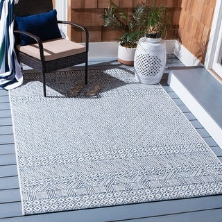 Link to Safavieh Courtyard Charmaine Indoor/ Outdoor Rug Similar Items in Rugs
