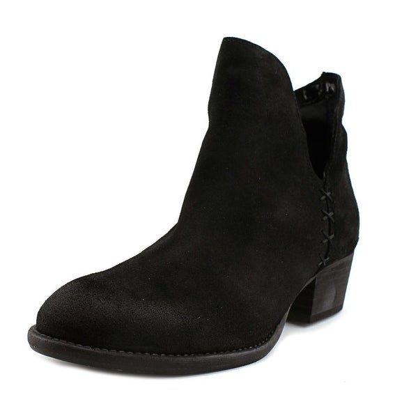 Coolway Genius Women Round Toe Leather Bootie