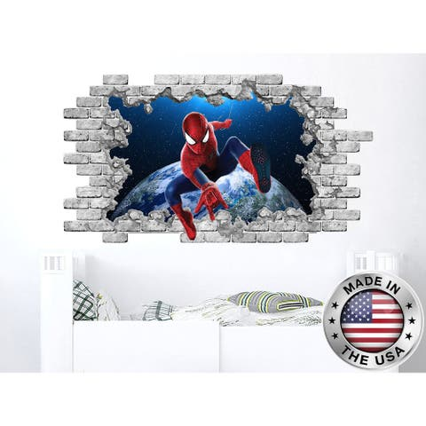 Superhero Spiderman Vinyl Sticker Murals