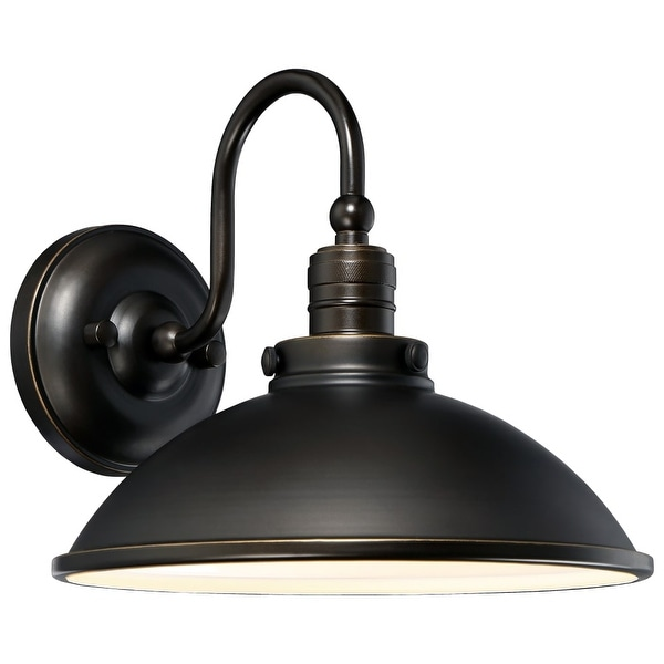The Great Outdoors 71169-143C-L 1-Light LED Outdoor Wall Sconce from the Baytree Lane LED Collection