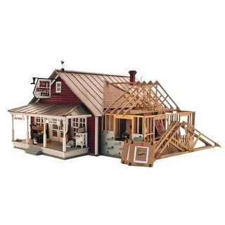 Woodland Scenics WOO5894 O Country Store Expansion Building Kit