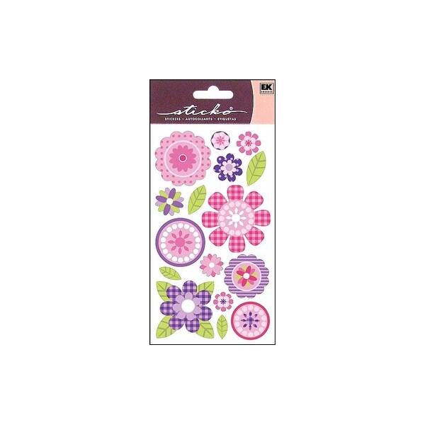 EK Sticko Sticker Pink Buttercups