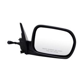 Pilot Automotive HD2709410-CR00 Honda Accord Black Manual Remote Replacement Passenger Side Mirror