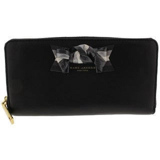 Marc Jacobs Womens Organizer Wallet Leather Bow - o/s