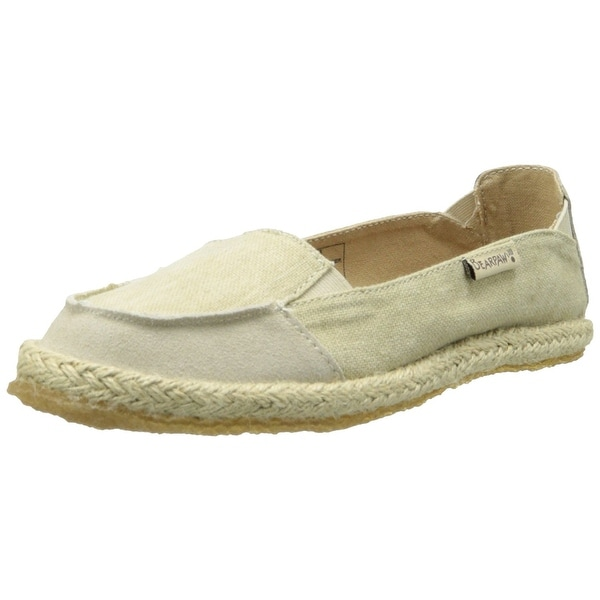 Bearpaw Heather Women's Espadrille Slip Ons Flats Casual Shoes Sandals - Pink Floral - 6 b(m) us
