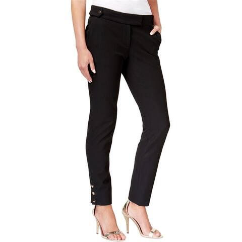 Rachel Zoe Womens Lana Cigarette Casual Trouser Pants