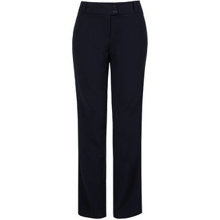 NE PEOPLE Women's Classic Stretch Straight Fit Trousers Pants 1X-3X (More options available)