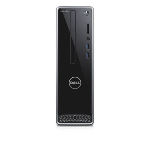 Dell Inspiron Computer Inspiron 3250 Desktop 2GB RAM 250GB HDD Windows 10 Home - Black