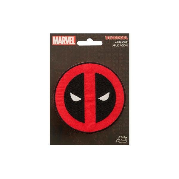 Simplicity Applique Iron On Sm Deadpool Logo