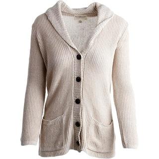 Denim & Supply Ralph Lauren Womens Shawl Collar Button Front Cardigan Sweater