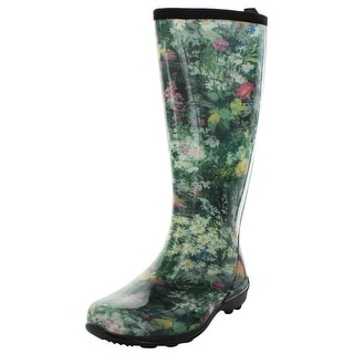 Kamik Eden Women's Waterproof Rubber Rain Boots Floral