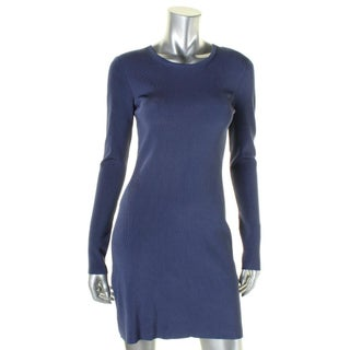 Elizabeth and James Womens Priscilla Sweaterdress Ribbed Stretch