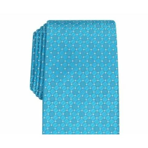 Perry Ellis Men's Kimball Micro-Dot Tie Blue Size Regular