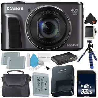 Canon PowerShot SX720 HS Digital Camera Bundle (deluxe)
