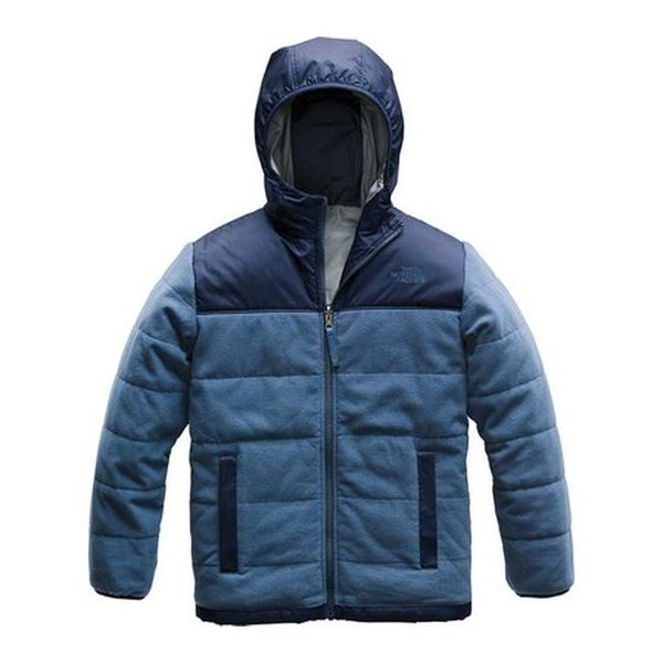 88f4d9e75c Shop The North Face Boys  Reversible True Or False Jacket Shady Blue - Free  Shipping Today - Overstock - 25667227