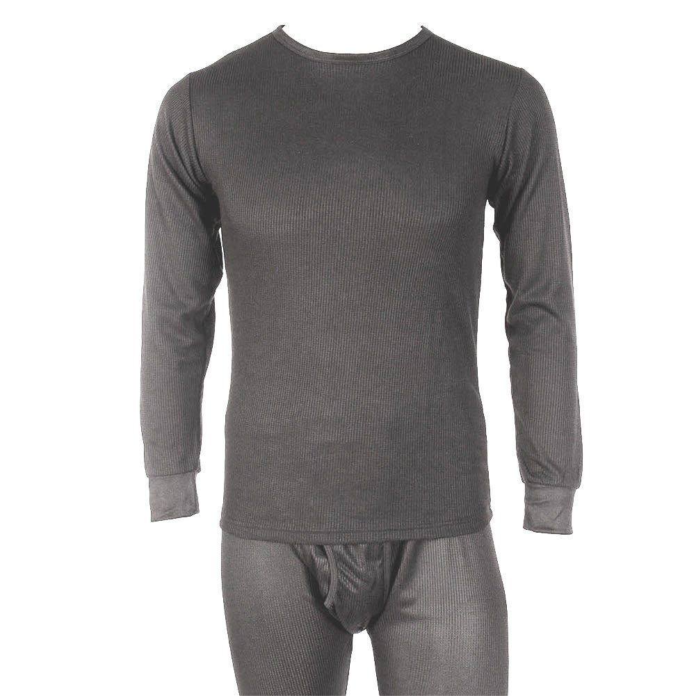 Knocker Men/'s Underwear 2 PC Waffle Knit Thermal Top and Bottom Set