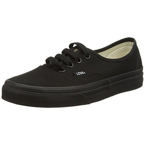 Vans Unisex U Authentic, Black/Black, 11