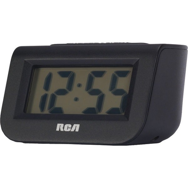 "Rca Rcd10 Alarm Clock With 1"" Lcd Display"