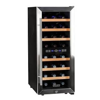 Koldfront TWR247E 14 Inch Wide 24 Bottle Wine Cooler with Dual Cooling Zones|https://ak1.ostkcdn.com/images/products/is/images/direct/39dc578c1f0e6fadfe2ac1023b549ce058b6b1c6/Koldfront-TWR247E-14-Inch-Wide-24-Bottle-Wine-Cooler-with-Dual-Cooling-Zones.jpg?impolicy=medium