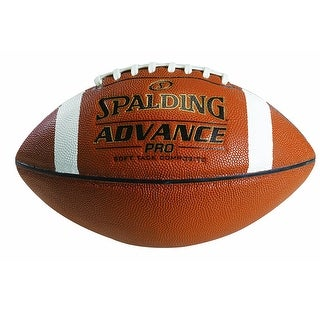 Spalding Advance Pro Football (Full Size) - Brown
