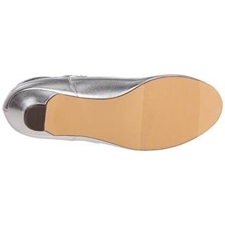 Balleto Girls Kate Faux Leather Dress Shoes