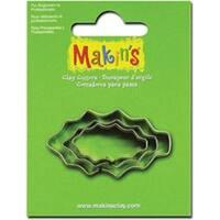 Holly Leaf - Makin's Clay Cutters 3/Pkg