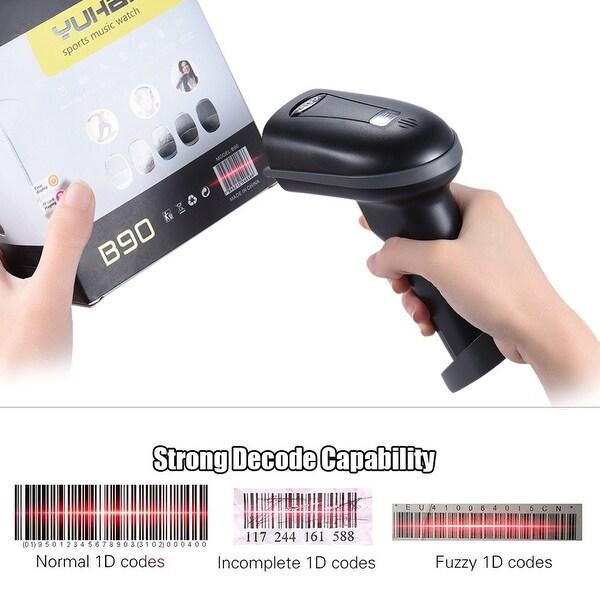 Shop 2 4GHz USB Wireless Handheld Laser Barcode Scanner POS Scan Gun