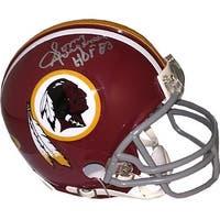 Sonny Jurgensen signed Washington Redskins Riddell TB Mini Helmet 13 HOF 83 Gray Mask