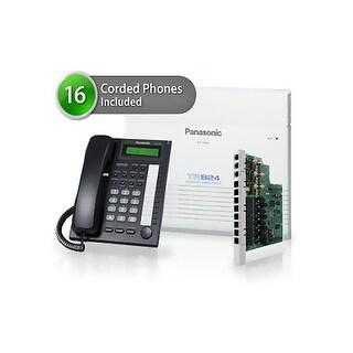 Panasonic KX-TA824-7730-6CO 16 Pack KX-TA824 Phone System KX-TA82483 Exp Card KX-T7730 Corded Phones