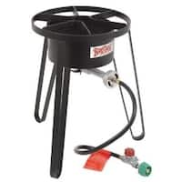 Bayou Classic SP50 21 Inch Pressure Outdoor Fish Cooker - Black