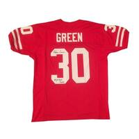 Ahman Green Nebraska Autographed Football Signed Jersey CHAMPS JSA COA
