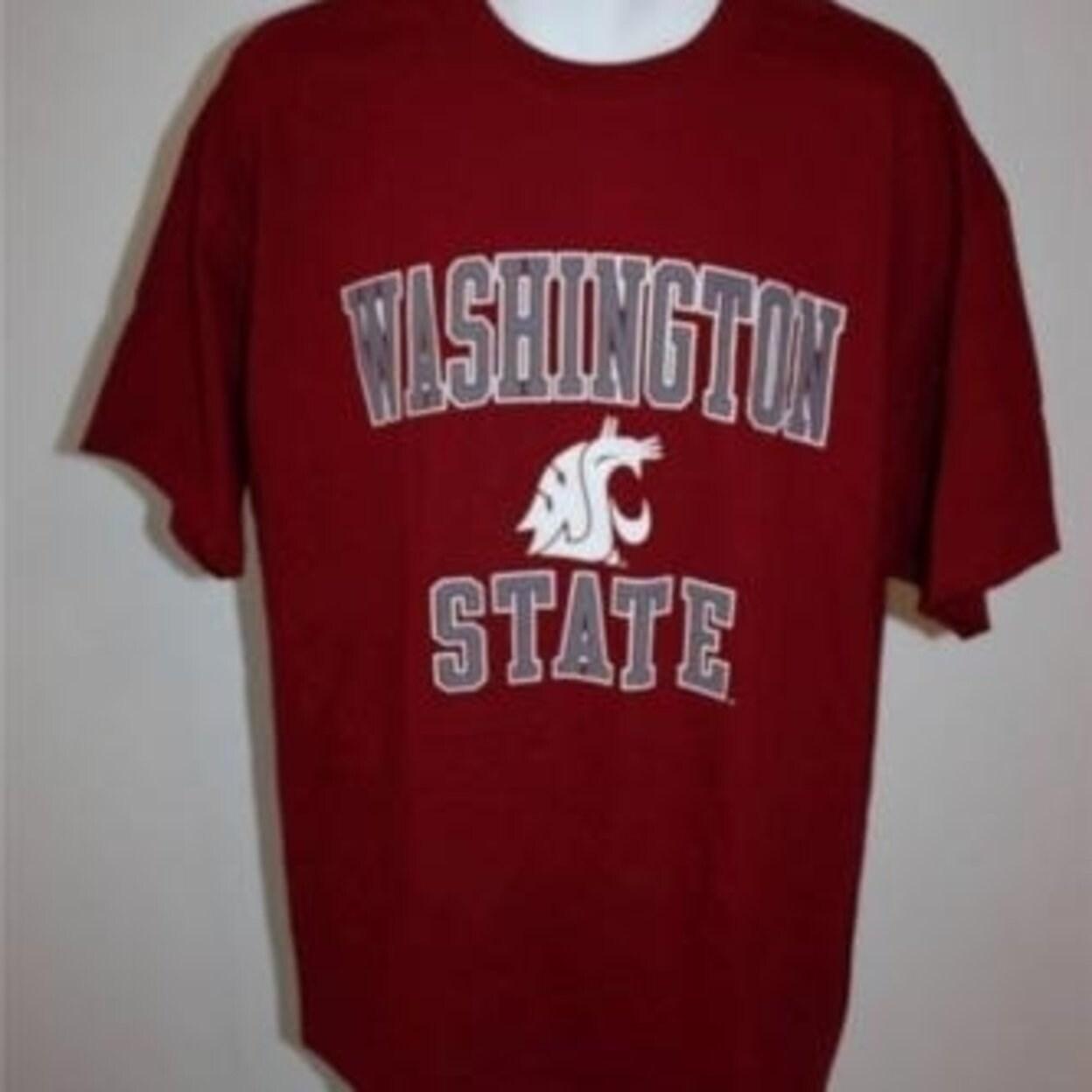 watch 7458f 7aa87 Washington State Cougars Adult sizes M-L-XL-2XL Red Shirt