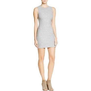 Elizabeth and James Womens Nadia Wear to Work Dress Heathered Sleeveless
