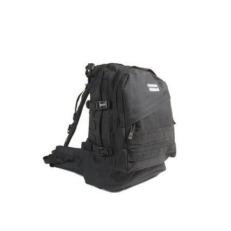 "Humvee Day Pack Gear Bag 15"" X 9"" X 22"" Black HMVGB02BLK"