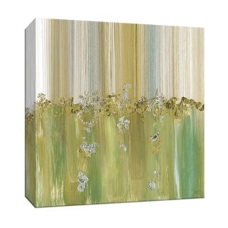 """PTM Images 9-147772  PTM Canvas Collection 12"""" x 12"""" - """"Morning Dew II"""" Giclee Abstract Art Print on Canvas"""