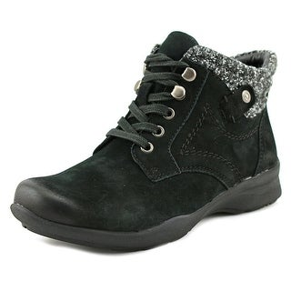 Earth Davana   Round Toe Leather  Ankle Boot
