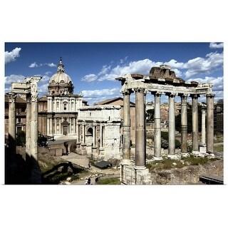 """Roman Forum, Rome, Italy"" Poster Print"