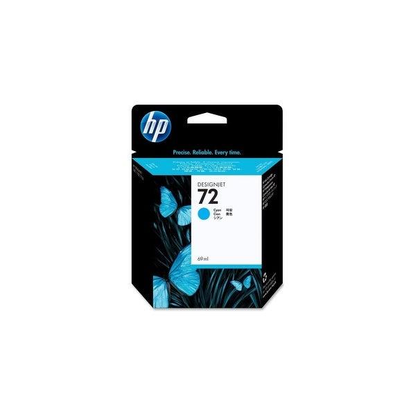 HP 72 69-ml Cyan DesignJet Ink Cartridge (C9398A) (Single Pack)