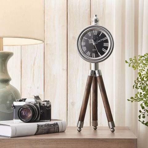 Tripod Timepiece Decor