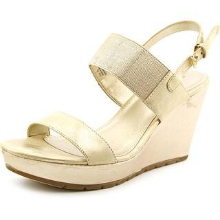 Bandolino Annika Women Open Toe Synthetic Wedge Heel