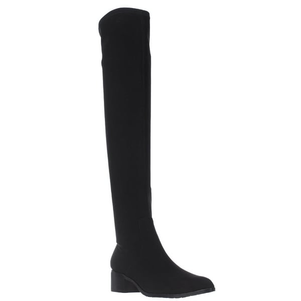 Donald J Pliner Dayle Over The Knee Stretch Boots, Black