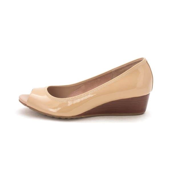 Cole Haan Womens 14A4332 Open Toe Wedge Pumps