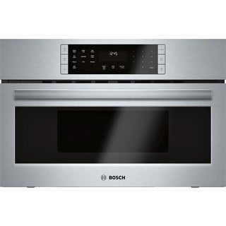 Bosch HMC8012UC 800 Series 30 Inch Wide 1.6 Cu. Ft. Built-In Microwave Oven with SpeedChef Cooking Cycles