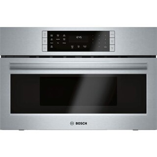 Bosch HMC8022UC 800 Series 30 Inch Wide 1.6 Cu. Ft. Built-In Microwave Oven with SpeedChef Cooking Cycles for a 240 Volt Outlet