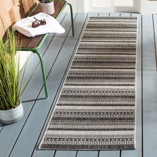 Link to Safavieh Courtyard Kleio Indoor/Outdoor Rug Similar Items in Transitional Rugs