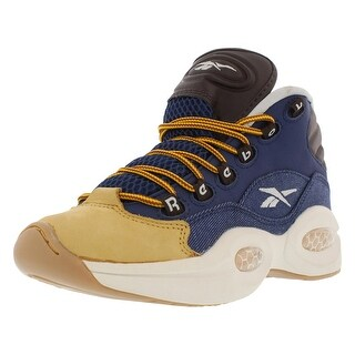 Reebok Question Mid-Dress Code Gradeschool Classic Boy's Shoes